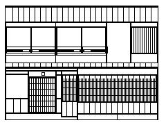 京町家の宿 雅樂庵 ロゴ